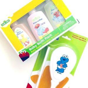 Other - Infant Bath Packs, 3-pc. + Brush Comb Travel Set